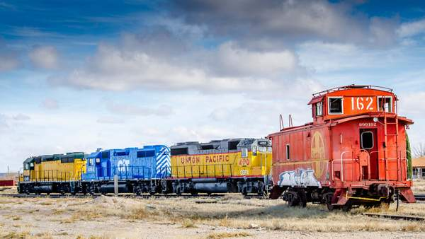 Fort Stockton Train
