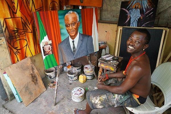 Lagos by Anton Apostol