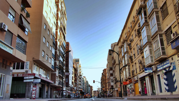 Malaga Street by Navygate