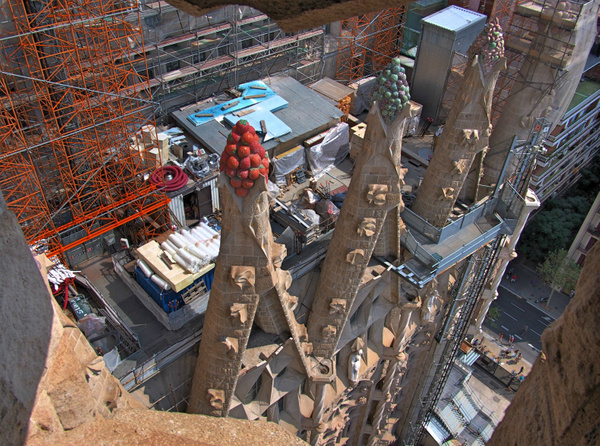 Sagrada Familia Construction Site by Navygate