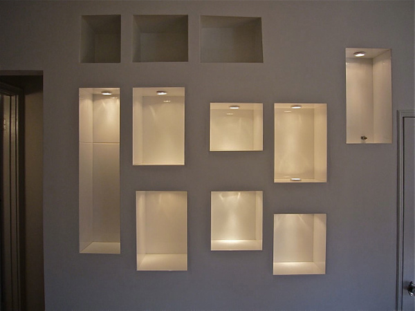 tiled trophy cabinet by Carlos Schopenhauer