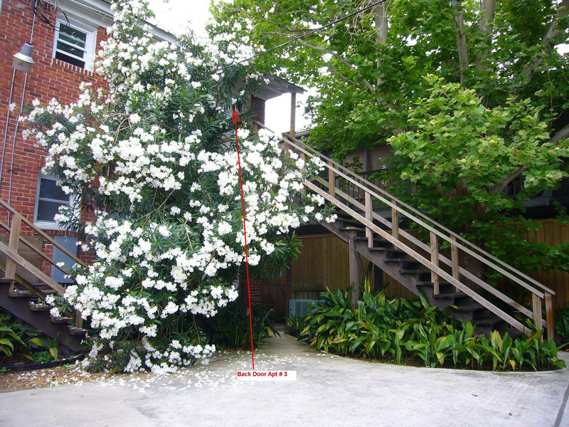 stair to back entrance