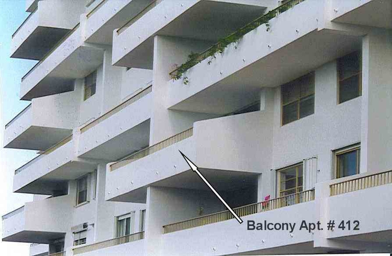 location balcony