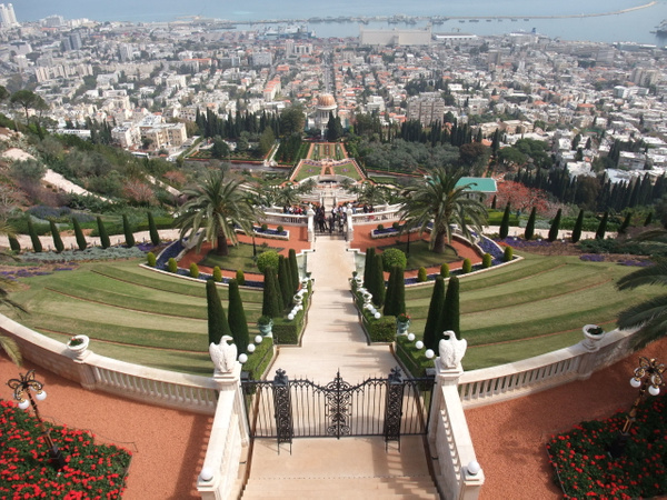 Haifa. Bahá'í gardens by Clarissa
