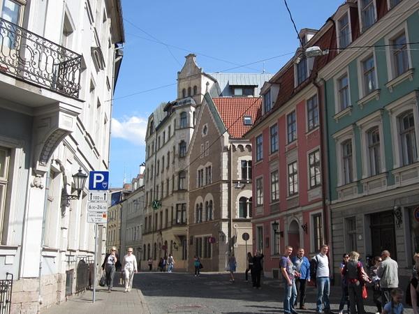 Maza Pils street by Clarissa