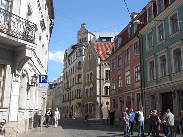 Maza Pils street