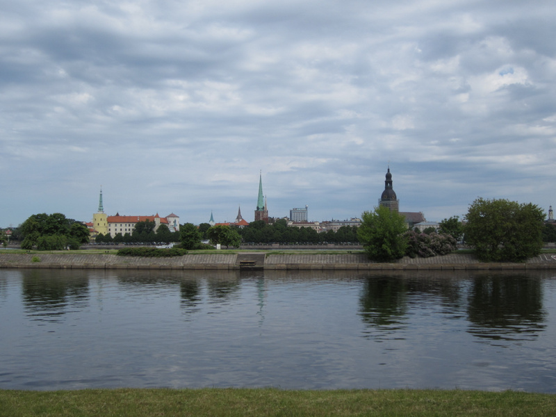 View from river side