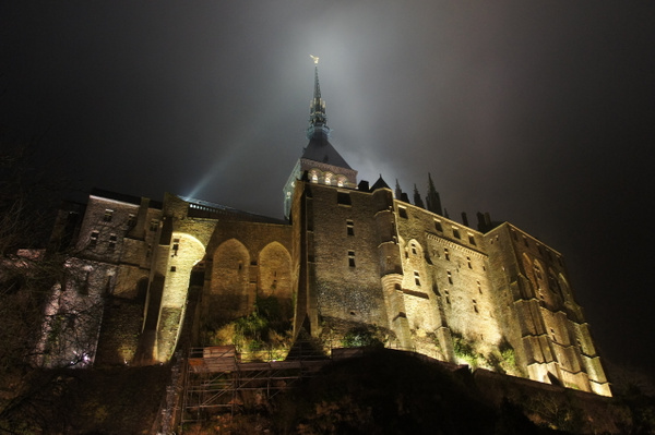 Mont St.Michel by Clarissa