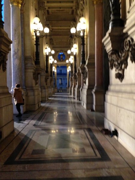 Opera Garnier. Le balcon. by Clarissa