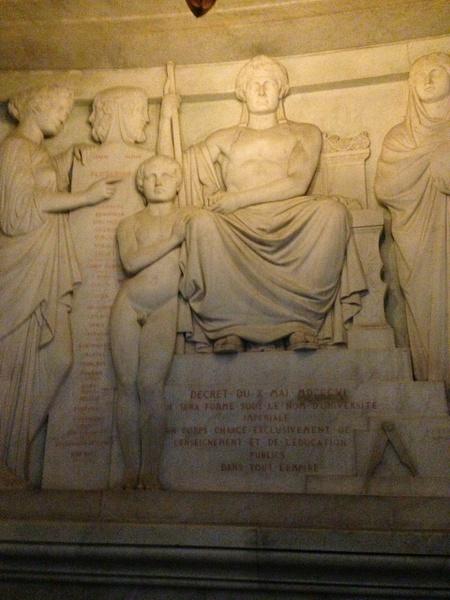 Dôme des Invalides, tombeau de Napoléon Ier. by...