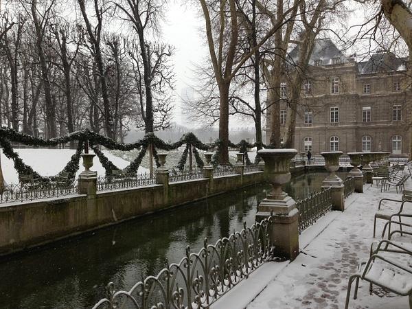 Jardin de Luxembourg by Clarissa