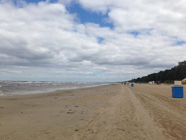 Beach of Jurmala by Clarissa