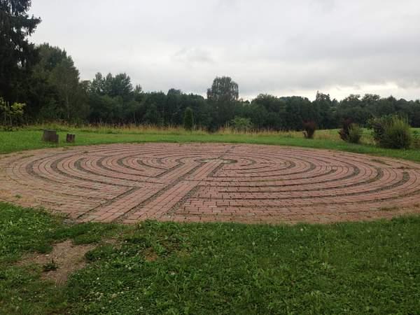 Labyrinth in Krimulda