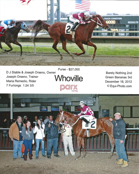 Winner's Circle Pics by Maria Remedio
