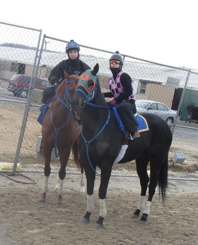 Maria and Jockey Angel Suarez