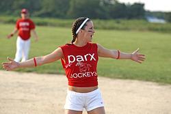 Softball Game Parx Racing vs Monmouth Park-Parx won