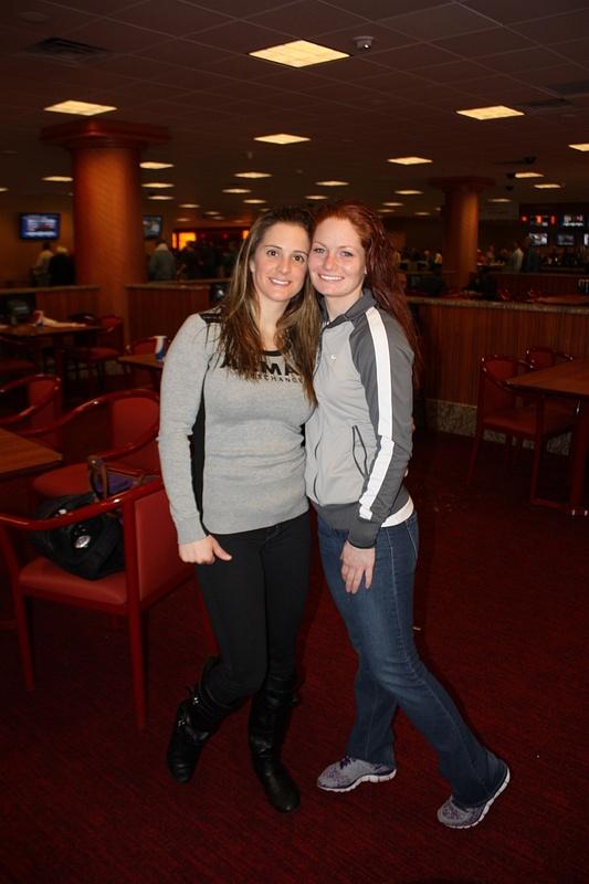 Maria with jockey Amanda Auwarter