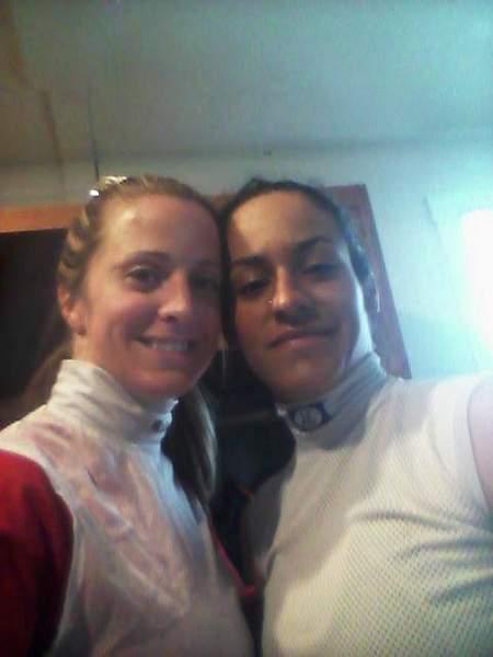 Maria and Jockey Carol Cedeno