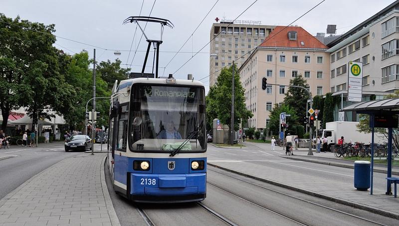 Мюнхен. Трамвай