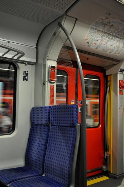 Мюнхен, S-Bahn, в поезде by andreyspb