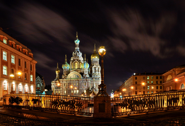 New Year's eve in Saint-Petersburg by andreyspb