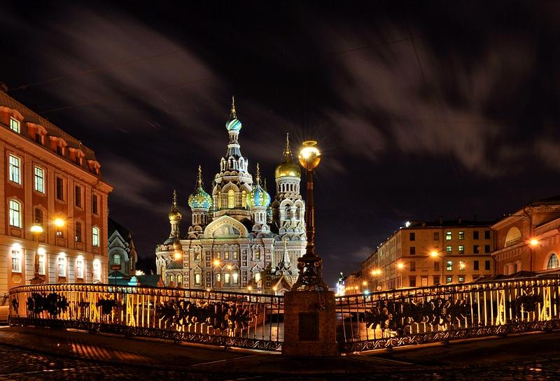 New Year's eve in Saint-Petersburg