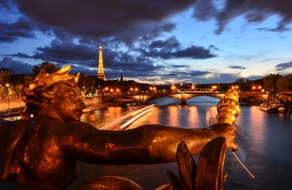 Paris evening