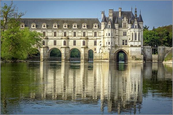 Castles of Loire by Vitaliy Teslya