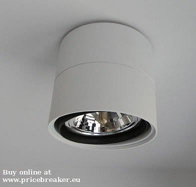 deltalight Link 111 wit spot opbouw