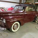 1946 Ford Conv. Burgundy
