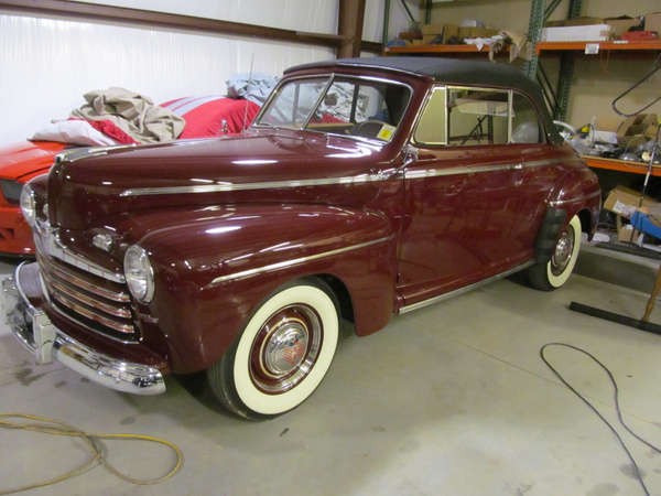 1946 Ford Conv. Burgundy by jgrizzle
