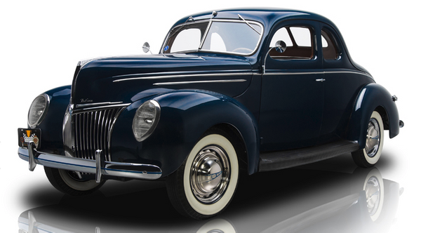 1939 Ford Coupe by jgrizzle