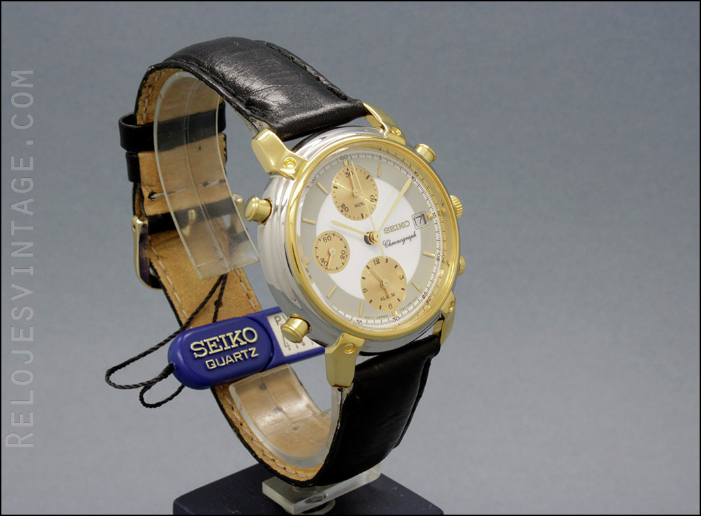 36a9ca7a0747 Seiko Chronograph Alarm 7T32-F070 7T32B by Vintage Watch...