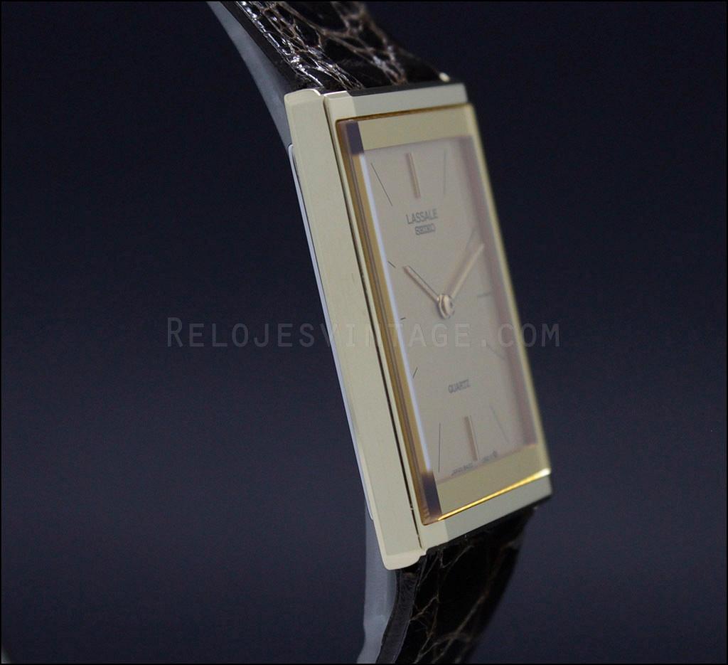1f479330d27 New Old Stock Seiko Lassale NOS vintage quartz watch 8420-6769