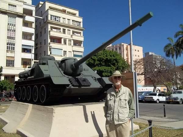 Castro's Bay of Pigs tank