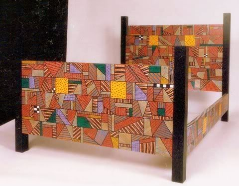 Art furniture by Felipe Zapata