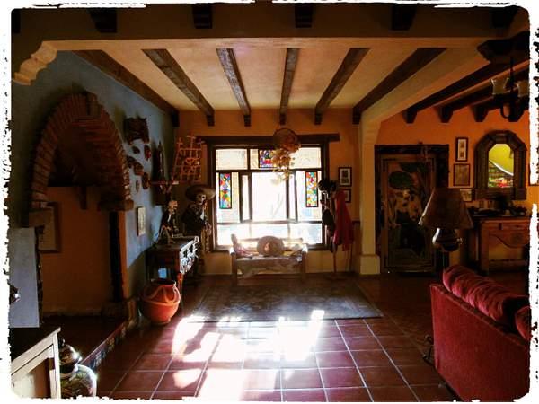 Toward living room window