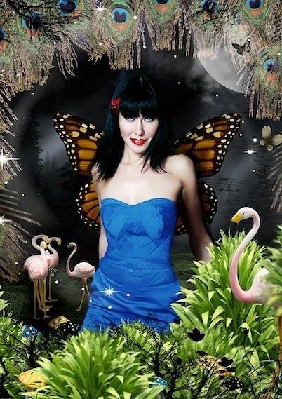Linzi Stoppard Butterfly Art