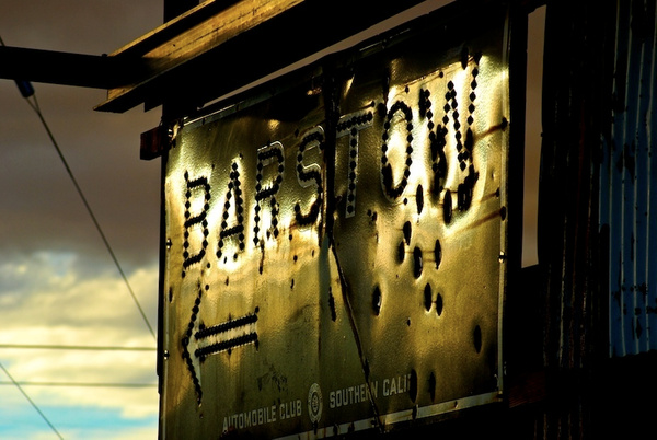 Route 66, California - Barstow to Amboy - 2008 by DaveWyman