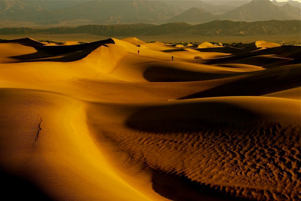 Sandscape – Death Valley by DaveWyman
