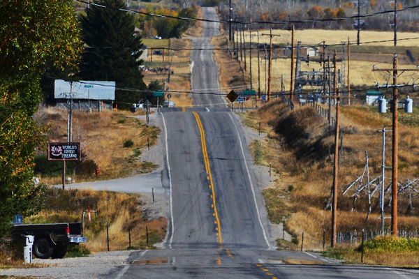 The Road to Liberty, Idaho by DaveWyman