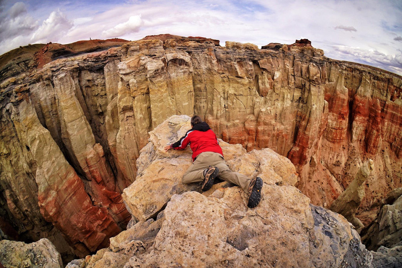Far Enough at Coal Mine Canyon!