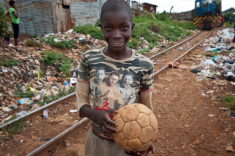 Nairoby, Kibera. By Anatoly Strunin