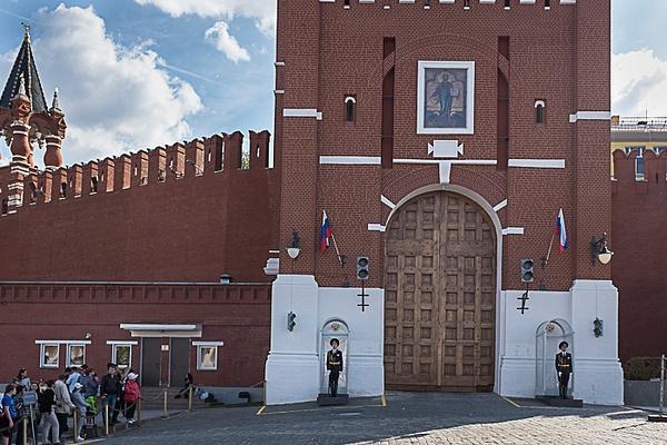 2015_05_Эхо_Спасская башня Кремля by Anatoly Strunin