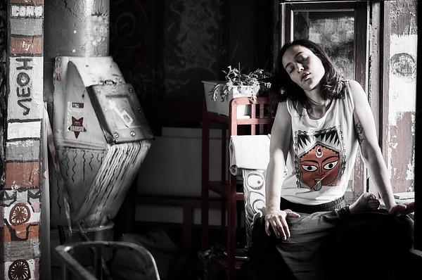 2017_07_Люди в городе_Ирина Голубева_Леди и хулиганка by Anatoly Strunin