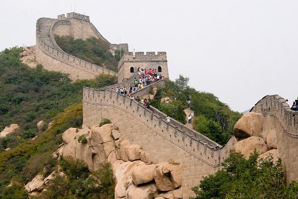 Great Wall, China by Eugene Osminkin