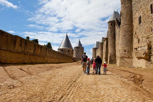Carcassonne, France by Eugene Osminkin