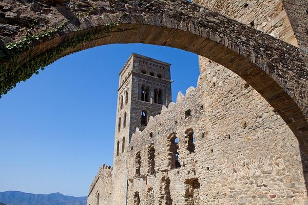 Sant Pere de Rades, Spain by Eugene Osminkin