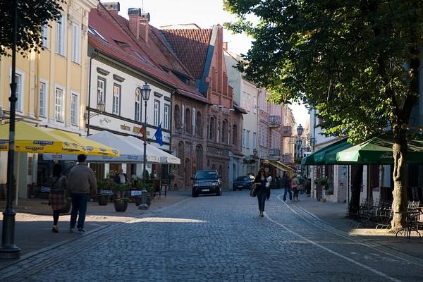 Vilnus, Lithuania by Eugene Osminkin