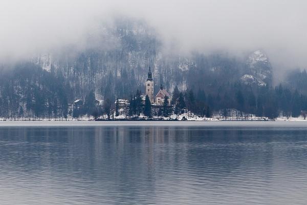 Bled, Slovenia by Eugene Osminkin